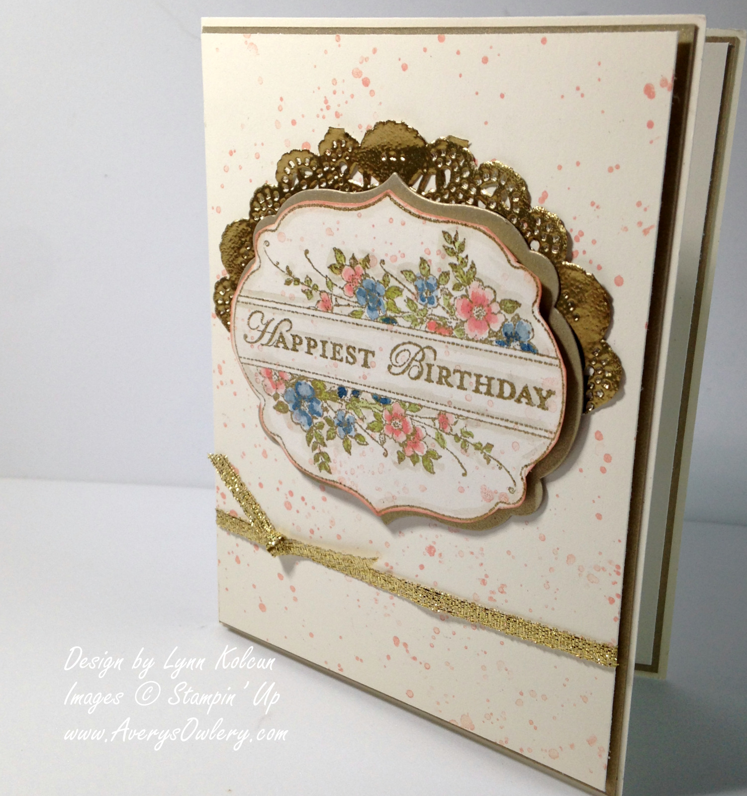 Stampin Up Apothecary Arts AverysOwlery.com