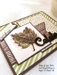 Stampin UP AverysOwlery.com Vintage Leaves