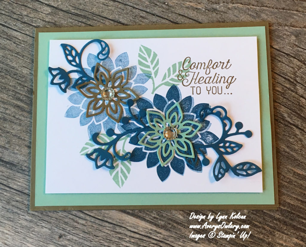 Stampin Up Flowering Flourishes AverysOwlery. com