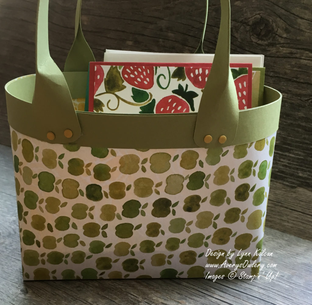 Stampin Up AverysOwlery.com Fruit Stand